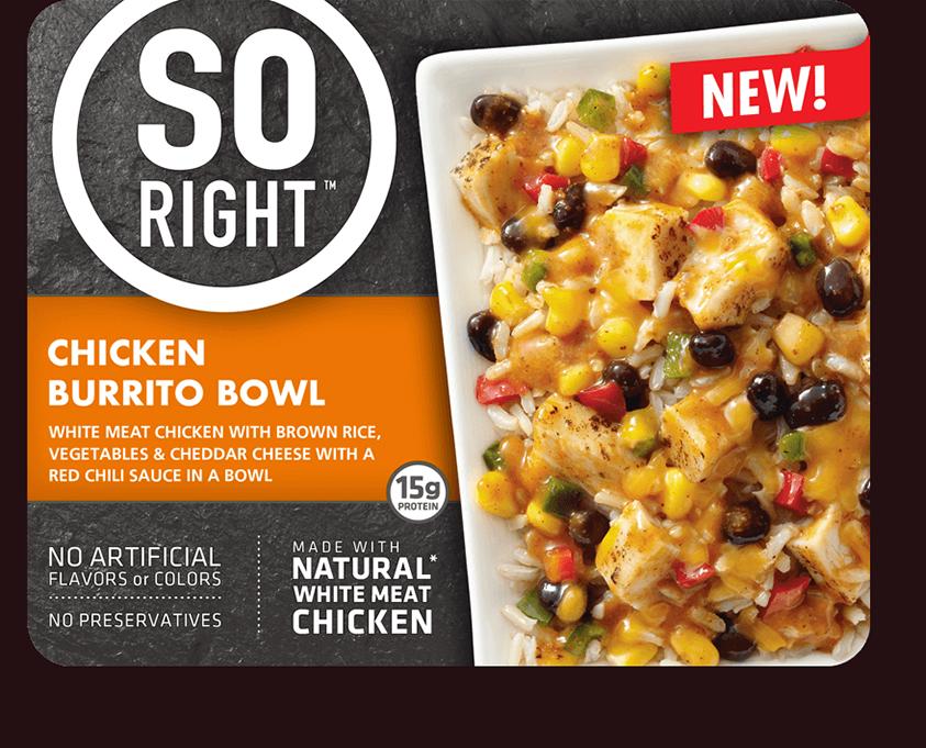 Chicken so right we. Burrito clipart burrito bowl