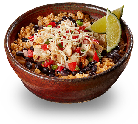 Barberitos menu options image. Burrito clipart burrito bowl