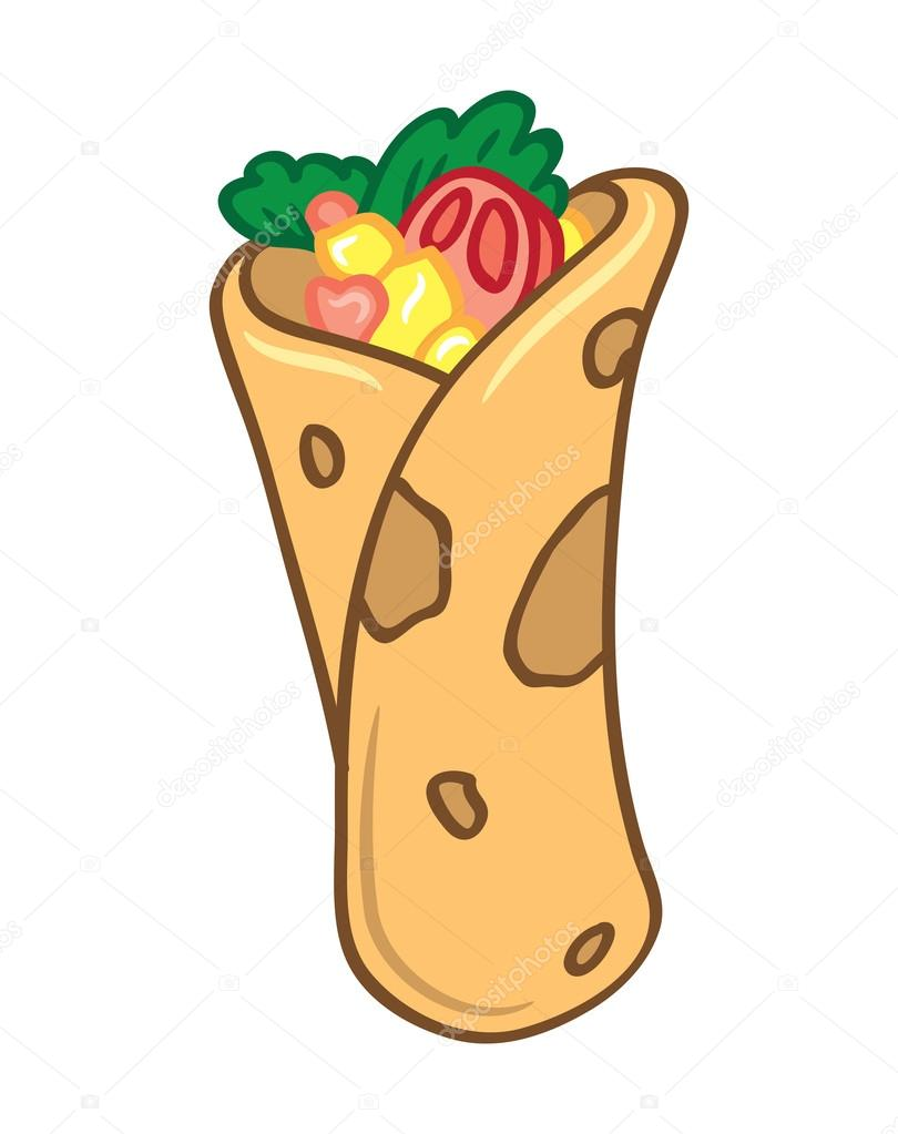 Burrito clipart cartoon. Free download best on