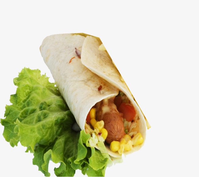 Burrito clipart chicken roll. Mexican thai vegetables corn