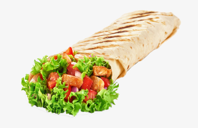 Mexican product kind food. Burrito clipart chicken roll