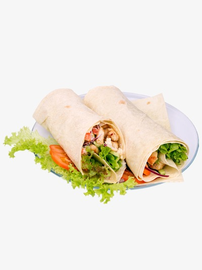 Food fast western png. Burrito clipart chicken roll