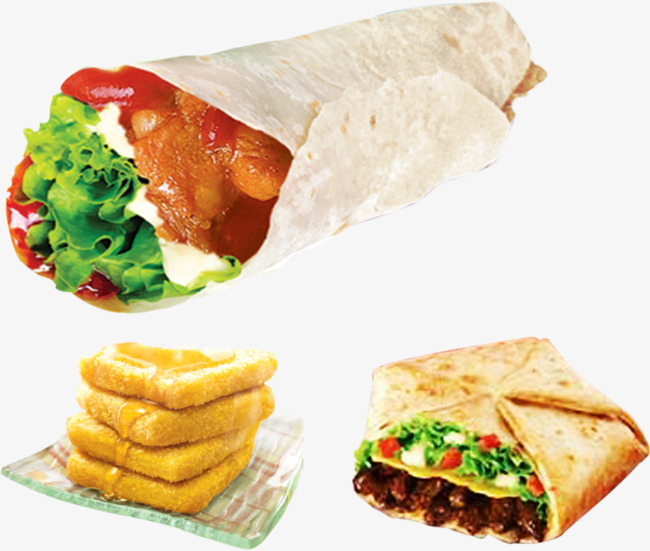 Burrito clipart chicken roll. Mexican hamburger pasta png