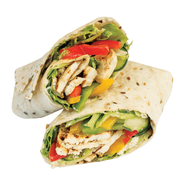 Rice clipart chicken salad. Sweet chilli wrap order