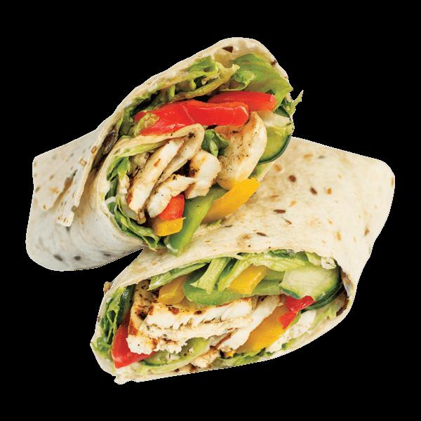 Burrito clipart chicken wrap. Sweet chilli order online