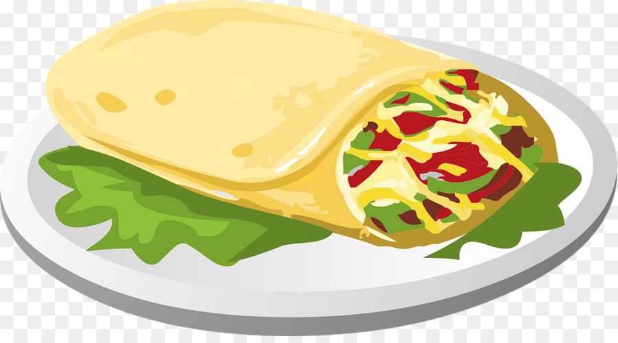 Junk food cartoon transparent. Burrito clipart chimichanga