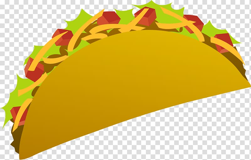 Taco salad mexican cuisine. Burrito clipart cute