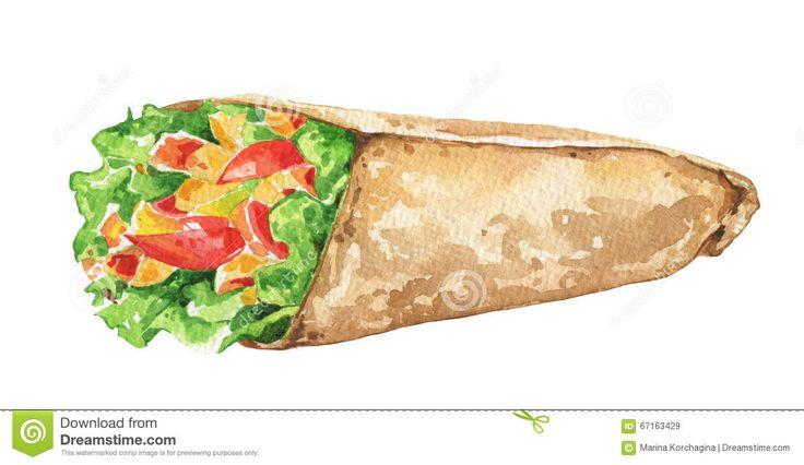best tj taco. Burrito clipart doner kebab