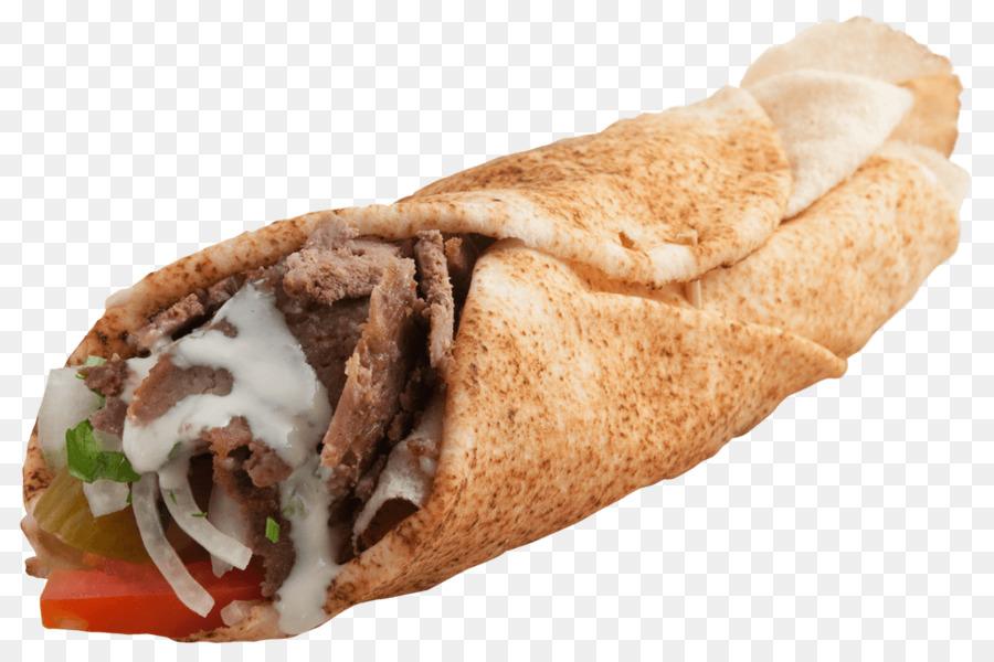 Shawarma middle eastern cuisine. Burrito clipart doner kebab