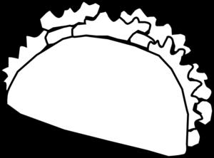 Burrito clipart drawing. Taco at getdrawings com