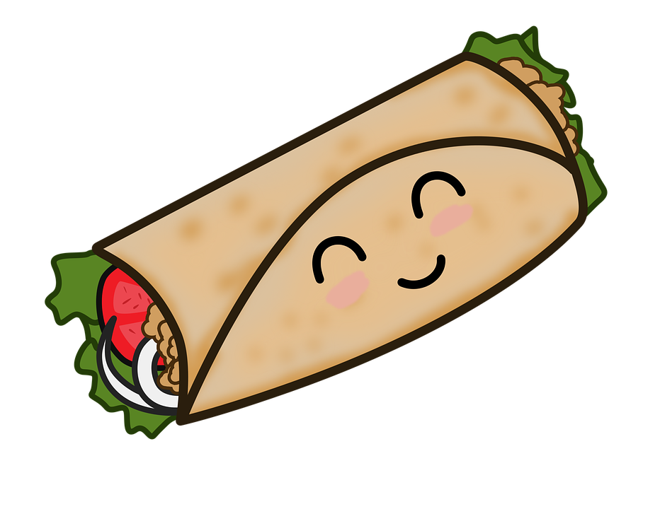Burrito clipart drawing. Free download best on