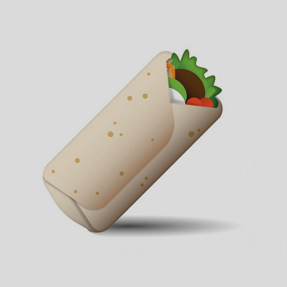Awesome clip art panda. Burrito clipart emoji