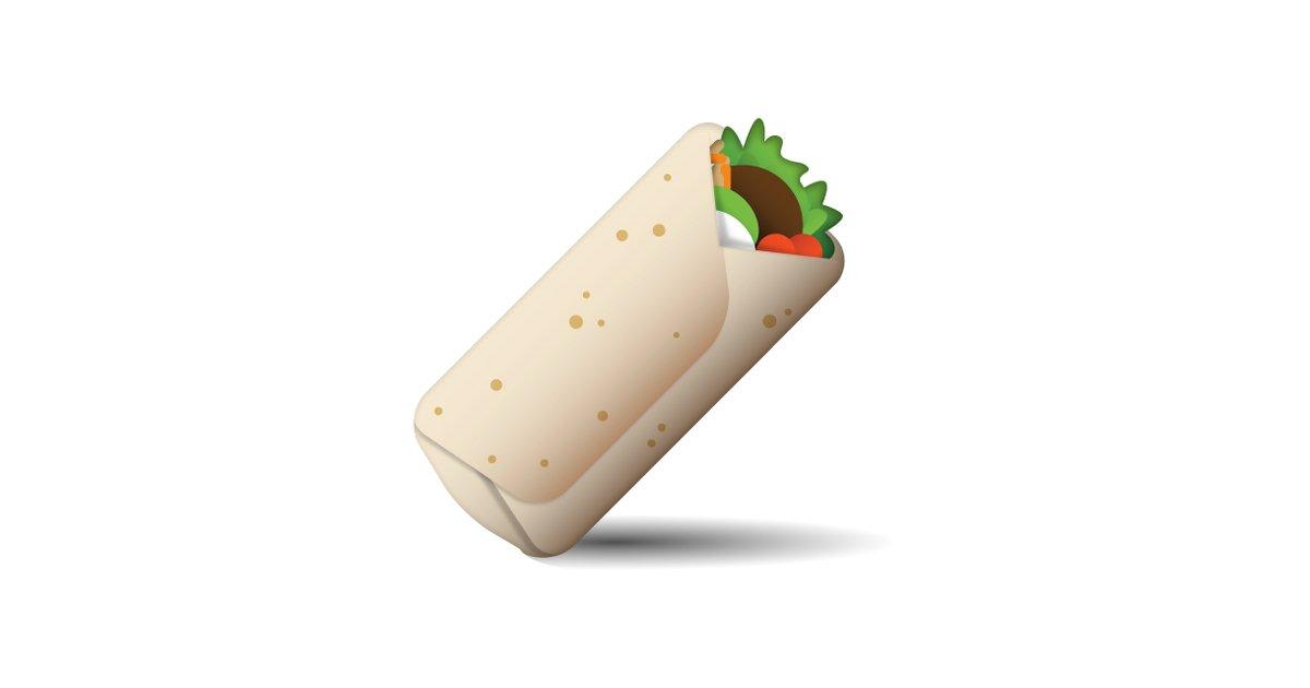 Burrito clipart emoji. That should exist popsugar