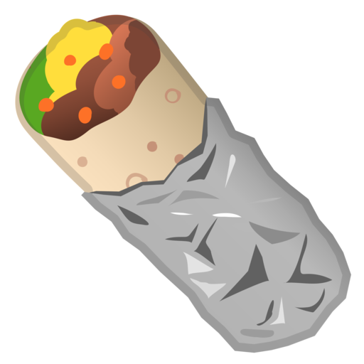 burrito clipart emoji
