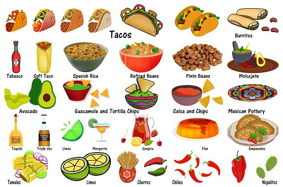 Burrito clipart food. Taco tuesday clip art