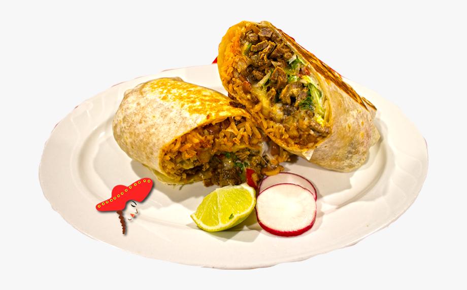Spanish mexican cuisine . Burrito clipart food