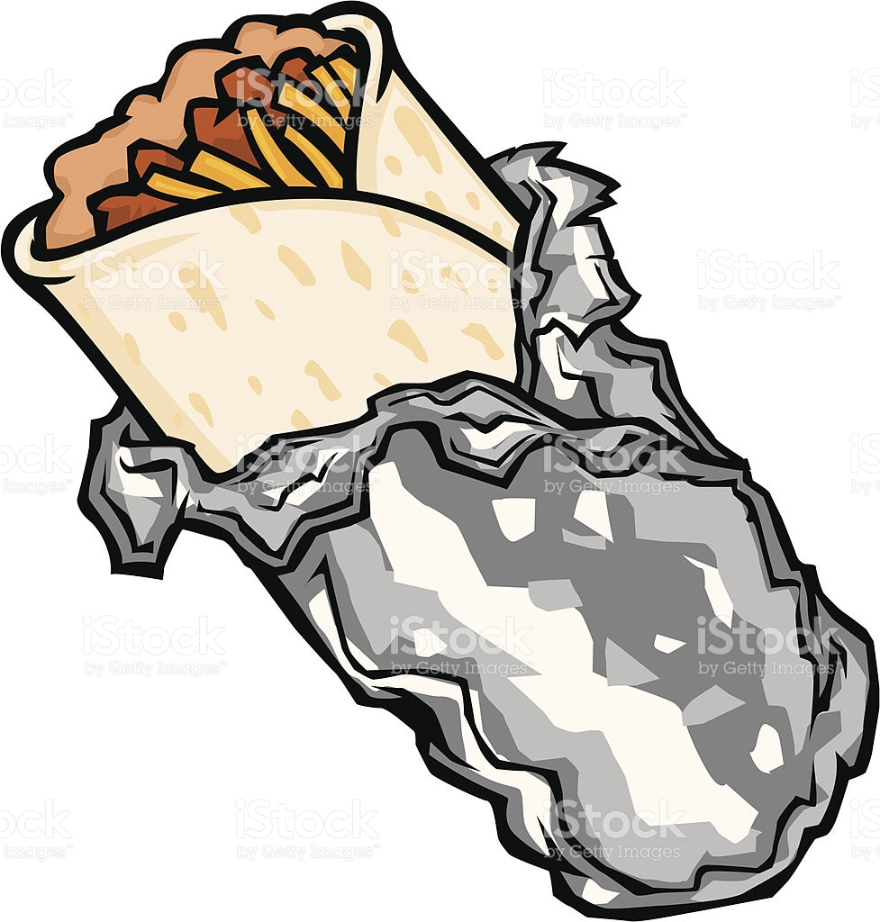 Collection of free download. Burrito clipart food