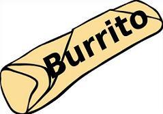 Free. Burrito clipart happy