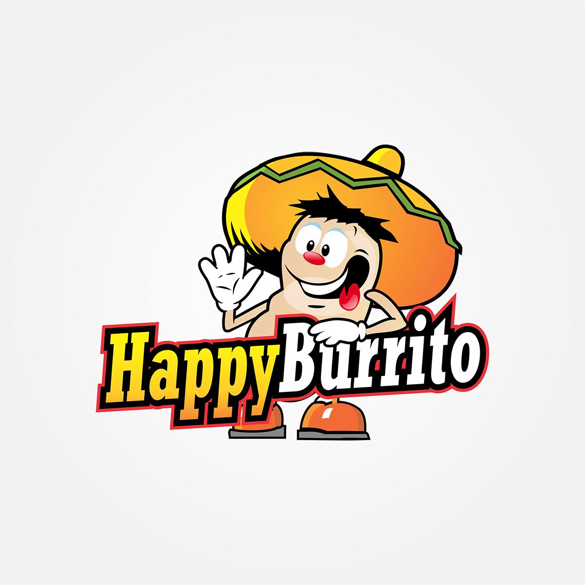 Wire b graphics graphic. Burrito clipart happy