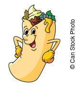Burrito clipart man. Burritos panda free images