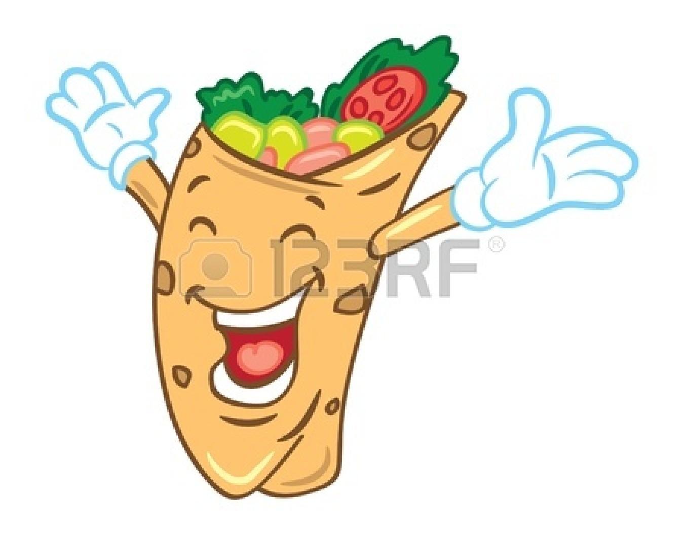 Burrito clipart sandwich wrap. Cartoon panda free images