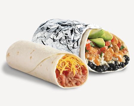 Del menu burritos. Burrito clipart taco burrito