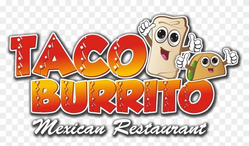 Burrito clipart taco burrito. Tacos y burritos logo