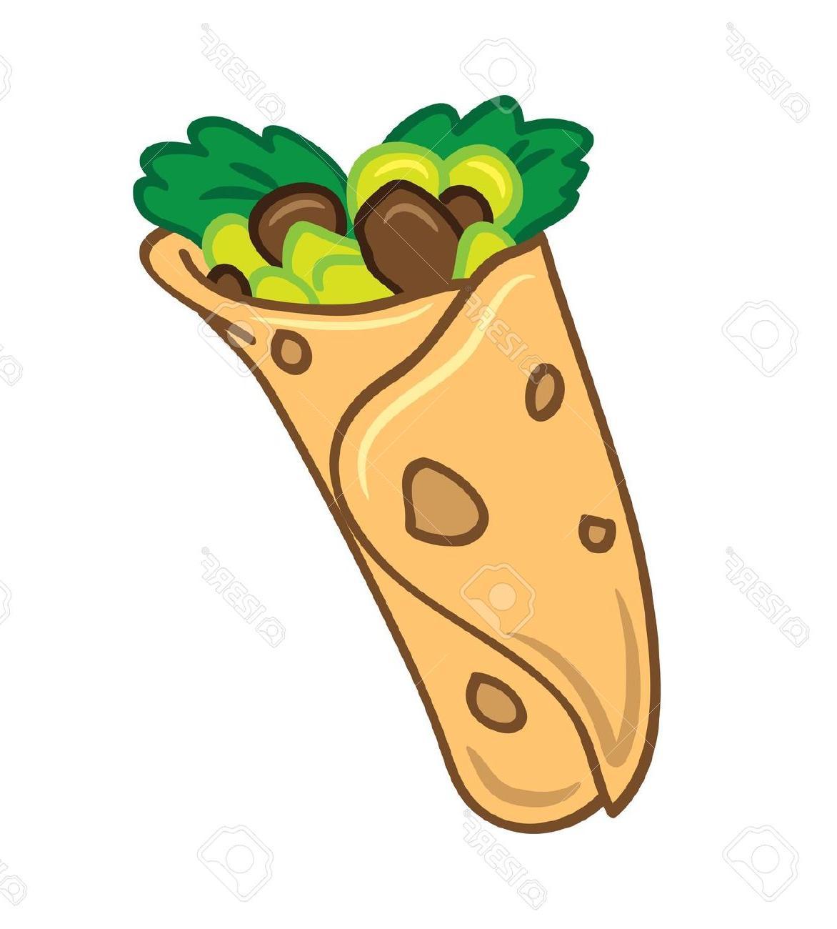 Burrito clipart vector. Burritos free download best