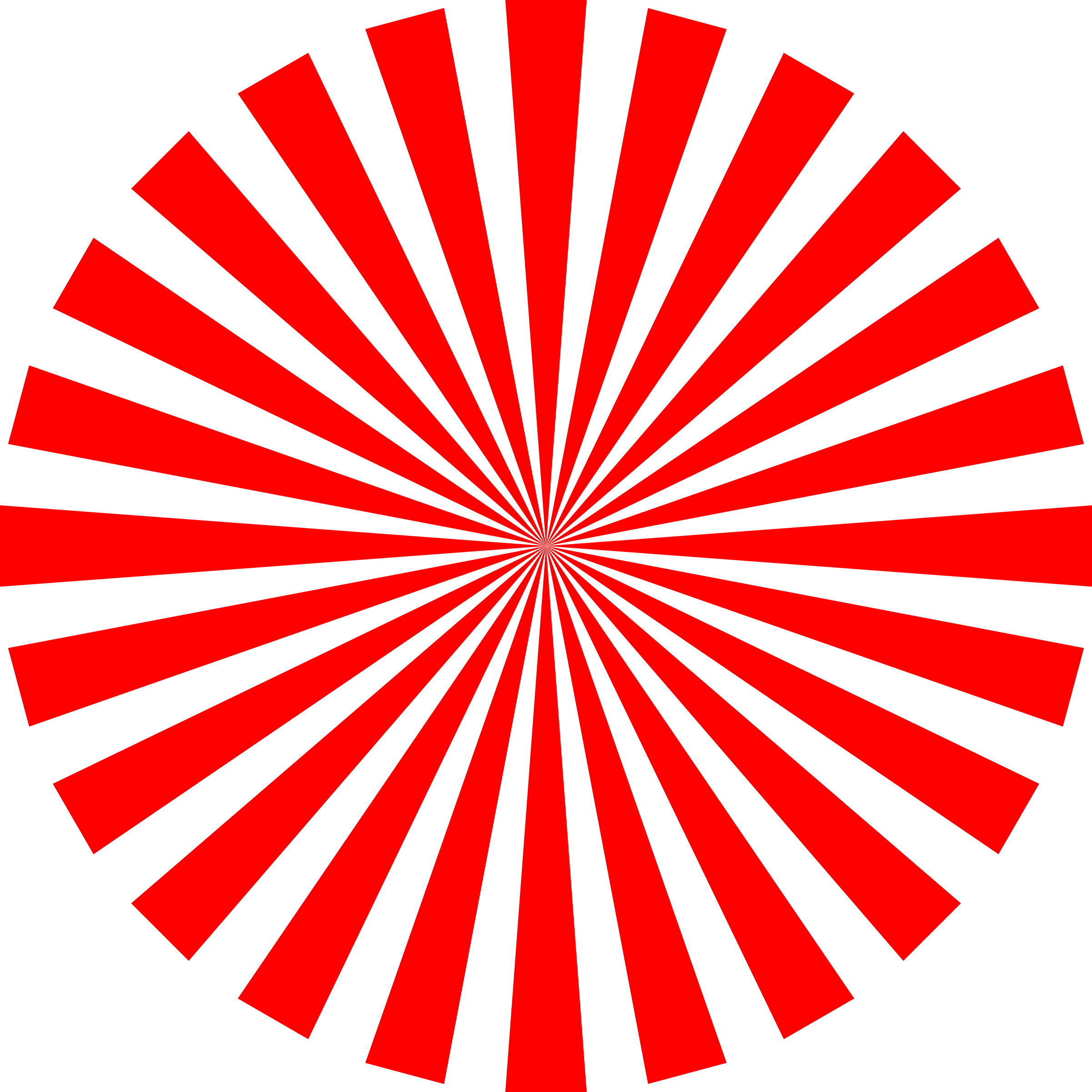 Burst clipart advertising. Basic red star icons