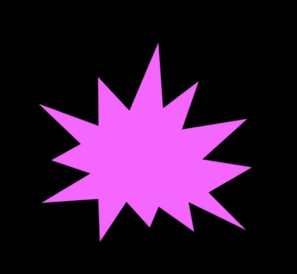 clipart explosion simple cartoon