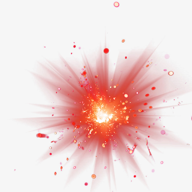 Burst clipart background. Spark element red stunning