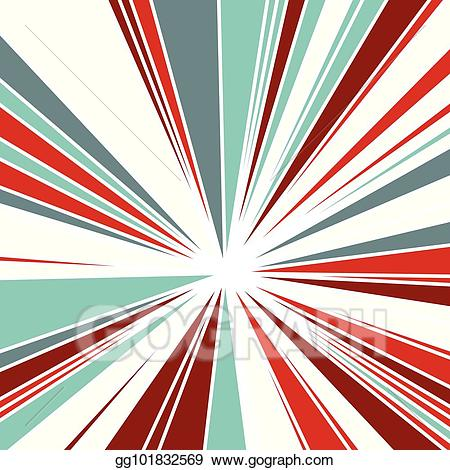 Burst clipart background. Vector stock abstract of
