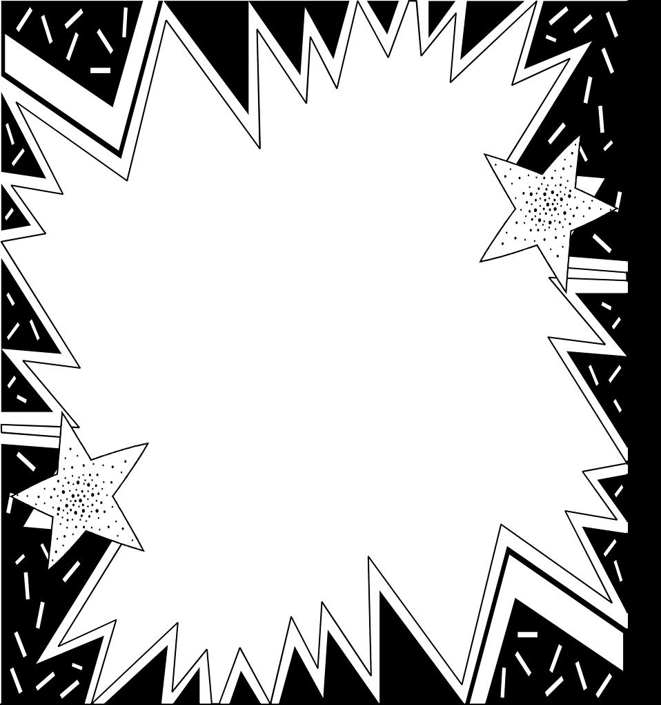 Burst clipart blank. Free stock photo illustration
