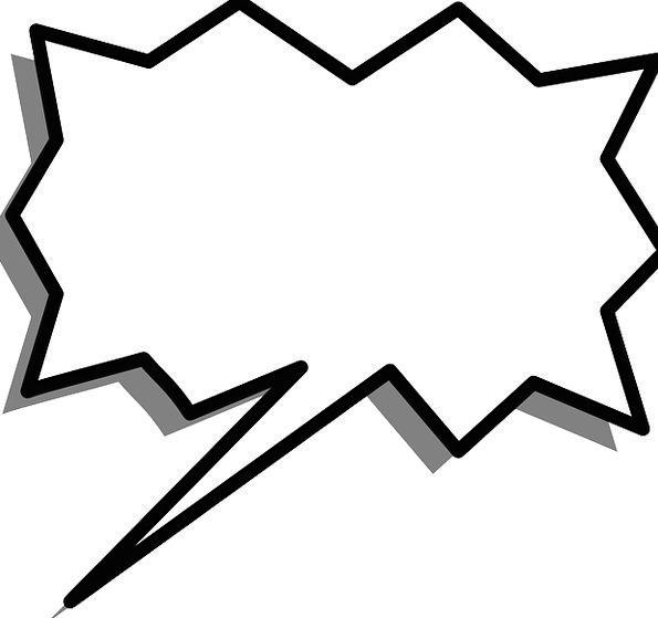 Speech language fizz spurt. Burst clipart bubble