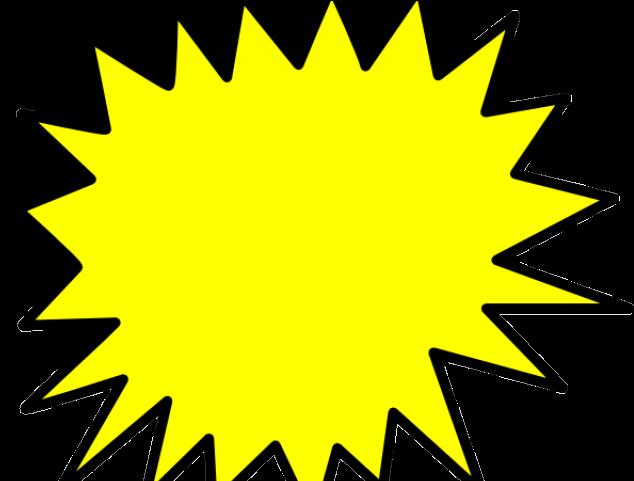 Starburst blank pow png. Burst clipart bubble
