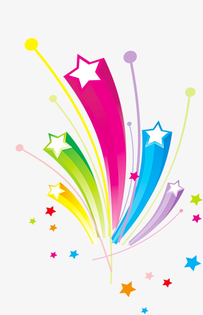 Celebrate clipart star. Simple cartoon element burst