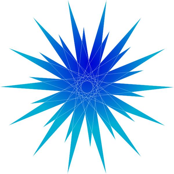 Blue star burst clip. Dot clipart bursts