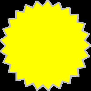 Burst clipart clip art. Yellow at clker com