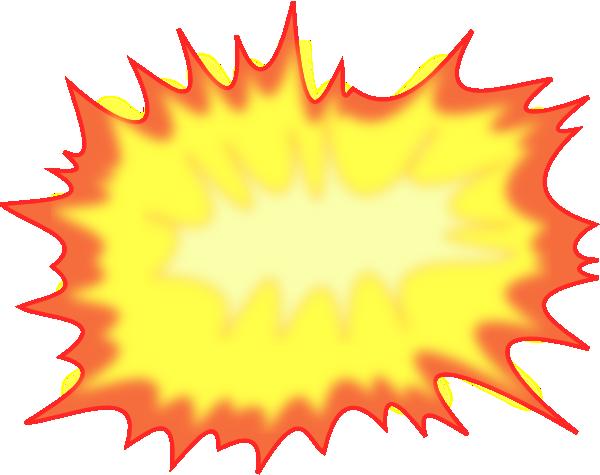 Burst clipart cloud burst. Comic explosion clip art
