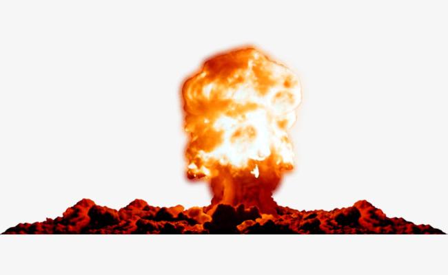 Bomb mushroom explosive png. Burst clipart cloud burst