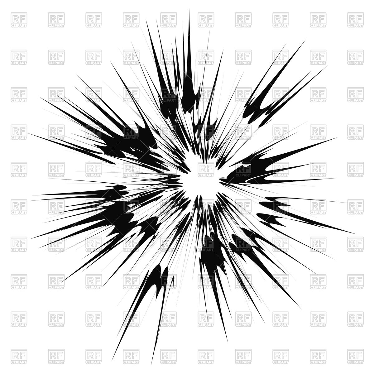 Burst clipart cloud burst. Explosions pencil and in