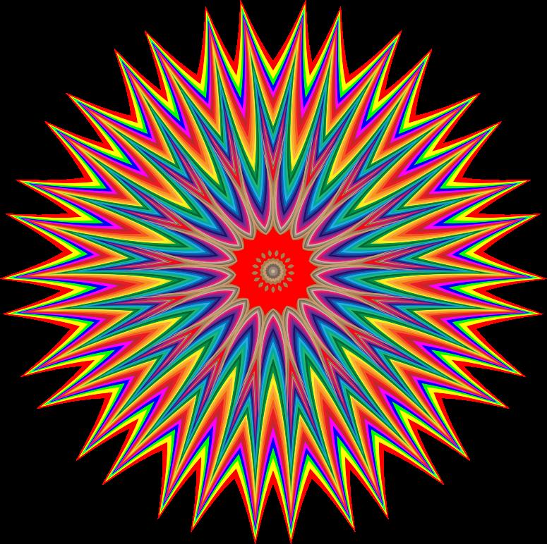 Colorburst medium image png. Burst clipart color burst
