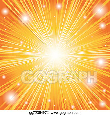 Stock illustration background of. Burst clipart color burst