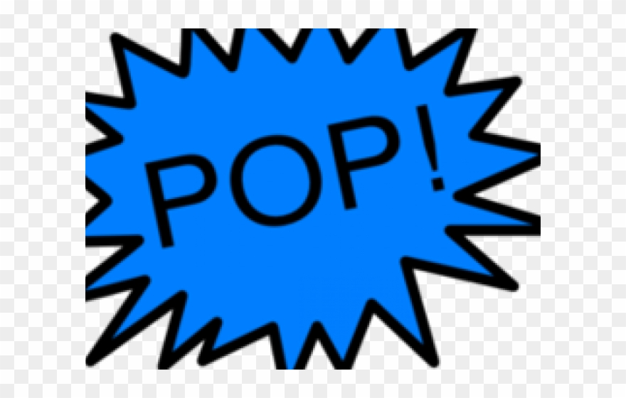 Burst clipart explosion. Pop art balloon clip
