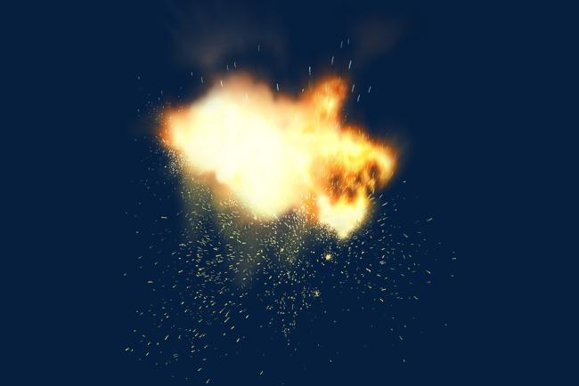 Burst clipart fire. Ye yellow firework png