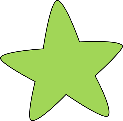 Free star collection stars. Burst clipart green