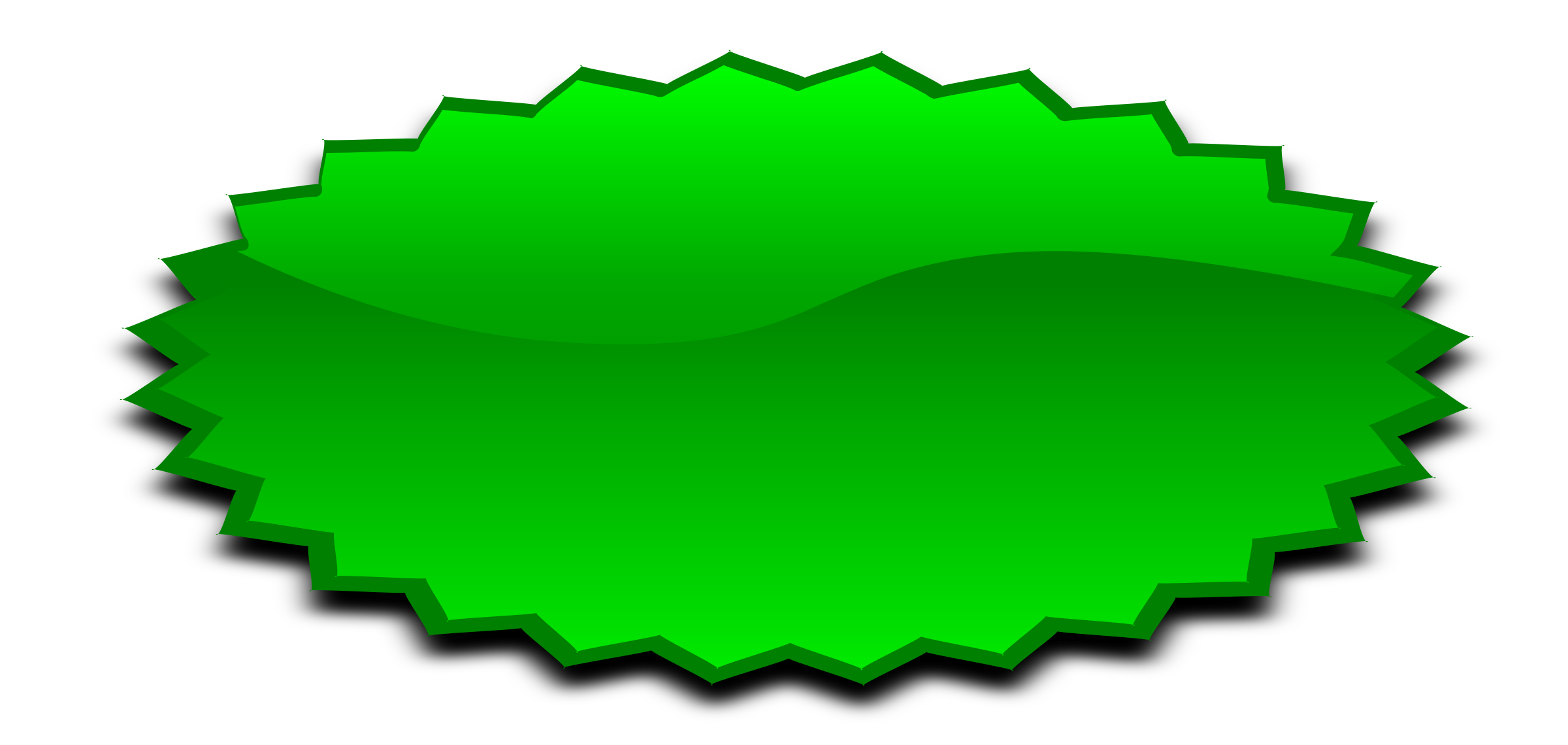 Burst clipart green. Stars icons png free
