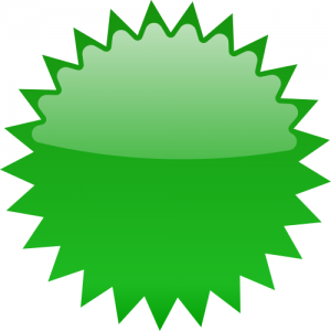 Collection of free download. Burst clipart green