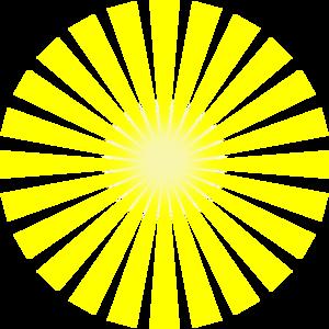 Burst clipart line. Sun rays star clip