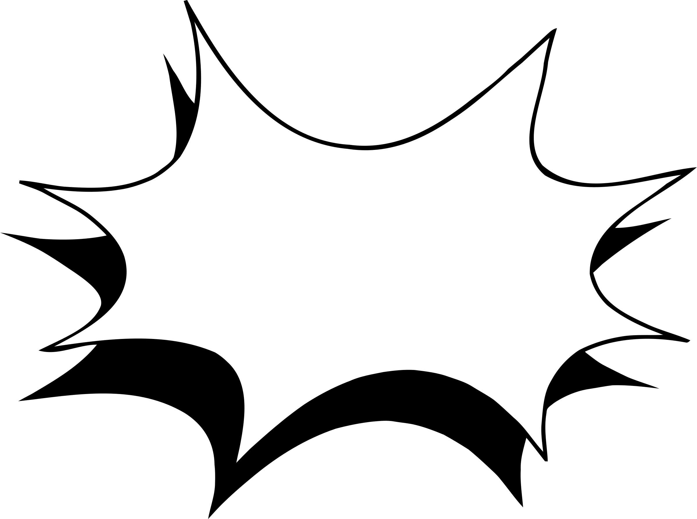 Starburst signs template costumepartyrun. Burst clipart outline
